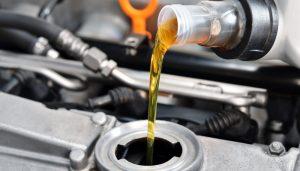 Oil change in Fontana