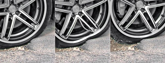 Other advantages of repairing a damaged wheel rim