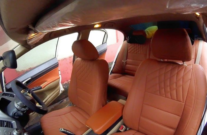 How to install leather seat covers